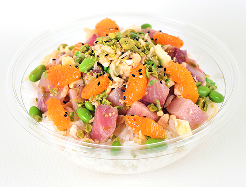 Hot Tail - Yellowtail Poke Bowl