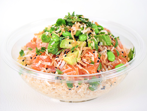 White Wave - Salmon Poke Bowl